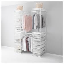 algot frame w rod wire baskets top shelf ikea house master