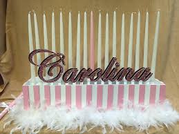 Sweet 16 Candelabra Candle Lighting Pieces U0026 Candles
