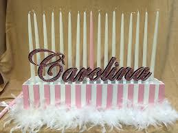 sweet 16 candelabra sweet 16 candle lighting lilianduval