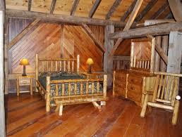 custom traditional cedar log beds by briar hill rustic furniture