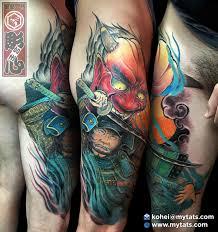 horishin shuten doji shuten doji oni samurai japanese tattoo
