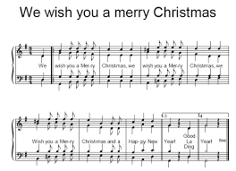 musicalion we wish you a merry jo hofman sheet