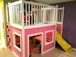 Playhouse Bunk Bed Playhouse Loft Bed Castle Bunk Bed Plan Loft Bed With Playhouse