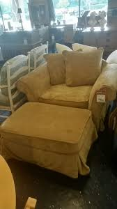 find this oversized comfortable chair with ottoman at ubberhaus in