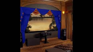 home theater curtains u0026 stage drapes at velvetdrapery com youtube