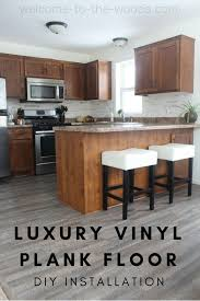 can you put cabinets on a floating vinyl floor diy luxury vinyl plank installation