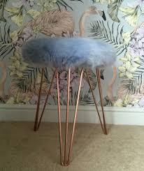 win a super luxe faux fur stool from suburban salon worth 165
