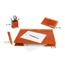 Decorative Desk Pads And Blotters by Olive Wood Designer Desk Blotter Designer Leather Desk Pad Breton