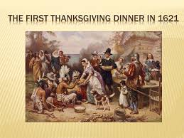 the history of thanksgiving ppt