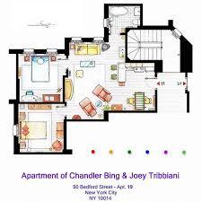 tv show apartment floor plans fascinating tv show apartment floor plans contemporary best