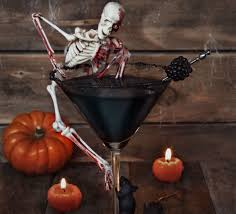 haunting halloween cocktail recipe bbc good food