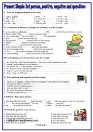 this is a two page thorough worksheet to practise present simple