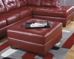 red room sofa trendy ashley furniture red leather sofa sectional couch