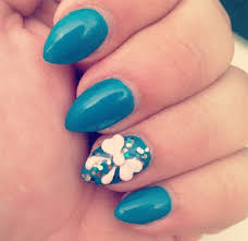 chic and classy bow nail art for the girly in you