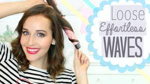 best curling wands for short hair easy curling wand waves for short hair youtube