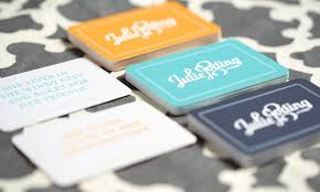 business cards iron promotions groupon
