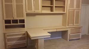 Computer Desks Houston Custom T Shape Computer Desk Remodeling Home Office Woodwork