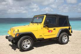 cars jeep wrangler jeep wrangler cabrio u2013 pb car rental bonaire