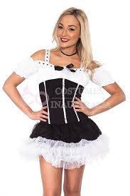 French Maid Halloween Costume Womens French Maid Costume Room Services