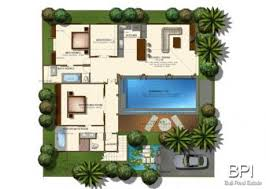 villa plan three bedroom villa plan but maybe only two bedrooms plans
