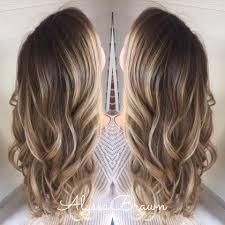 long hair blonde beachy wavy dark root ombre balayage