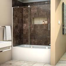 Shower Doors Bathtub Decoration Sliding Shower Doors With Bathtub And Enclosures Modern
