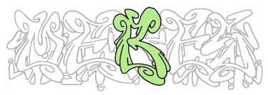 learn how to draw letter a wildstyle