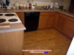 dark cork kitchen flooring fancy ideas for cork flooring in