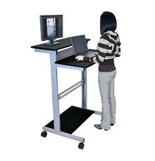 Computer Desk Amazon by Desk Stand Up Computer Desk Amazon Stand Up Workstation Black