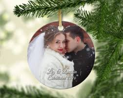ornament married etsy
