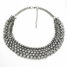crystal collar statement necklace images 57 collar statement necklace 2015new choker necklace fashion jpg