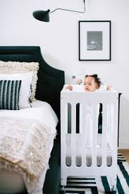 Solid Wood Mini Crib by Alma Mini Urban Crib Bloom Horne