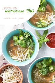 cuisine pho easy low carb pho the ketodiet