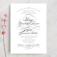formal wedding invitations formal ink wedding invitations by means minted