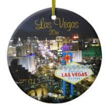 las vegas ornaments keepsake ornaments zazzle