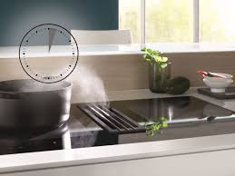 miele cuisine miele twoinone induction hob is ideal for open plan kitchens