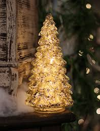 decoration ideas awesome small golden mercury glass christmas tree
