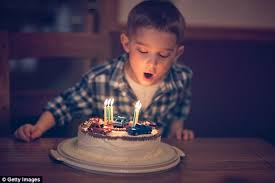 A Birthday Cake Blowing Out Birthday Candles Increases Bacteria On Cake Daily