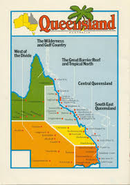 Map Of Queensland Queensland Brand Queensland Historical Atlas