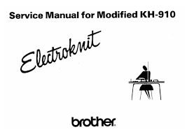 kh910 modified service manual