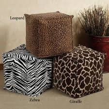 Cheetah Home Decor Cheetah Print Ottoman Trendy Quick View With Cheetah Print