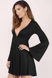 mauve dress deep v dress purple flared dress day dress 60