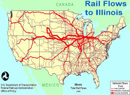 Chicago Area Traffic Map by Transportation That Built Chicago The Importance Of The Railroads