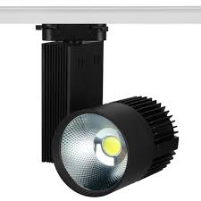 Kitchen Rail Lighting 10pcs New Led Track Light Cob 20w Ceiling Rail Lights Spotlight