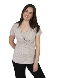 nursing top louise faux wrap top nursing top mummymatters
