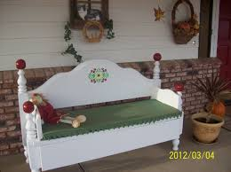 Bench Made From Bed Headboard 11 Best Uses For Old Bed Frames Images On Pinterest Bed Frame