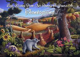 no6 best wishes from our family to yours at thanksgiving painting