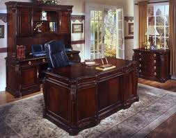 Executive Desk With Hutch Dmi Balmoor European Executive Desk Credenza Hutch