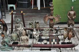 Chatuchak Market Home Decor Thai Antiques In Bangkok Bangkok Shopping