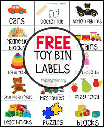 free toy bin lables toy bin labels bin labels and toy bins